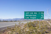 Las Vegas sign,Nevada — Stock Photo