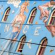 Venice Beach mural,Los Angeles — Foto Stock