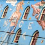 Venice Beach mural,Los Angeles — 图库照片