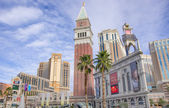 The Palazzo and The Venetian,Las Vegas — Stock Photo