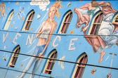 Venice Beach mural,Los Angeles — Stock Photo