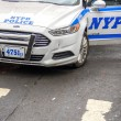 Stock Photo: NYPD car in New York