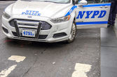 NYPD car in New York — Stock Photo