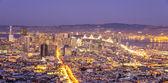 San Francisco skyline,California — Stock Photo