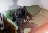 Osynlige mannen — Stockfoto