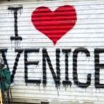 Постер, плакат: I love Venice Beach