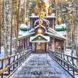 Ganina Yama church in Ekaterinburg — Stock Photo #39550971
