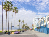 Ocean front walk,Venice Beach — Stock Photo