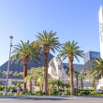 Luxor Hotel and casino,Las Vegas — Stock Photo