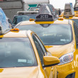 Stock Photo: New York city taxis