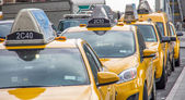 New York city taxis — Stock Photo