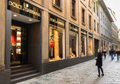Dolce & Gabbana store — Stock Photo