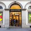 Stock Photo: Louis Vuitton store in Milan
