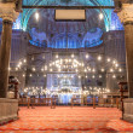 Sultanahmet Camii (Blue Mosque),Istanbul — Stock Photo