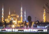 голубая мечеть, стамбул — Стоковое фото