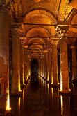 Basilica Cistern,Istanbul — Stock Photo