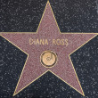 DianRoss star on Walk of Fame — Stock Photo #41582029