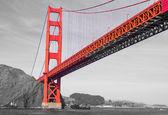 San francisco golden bridge — Stock Photo