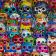 Mexican colorful skulls — Stock Photo #43334689