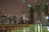Brooklyn Bridge,New york — Stock Photo