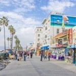 Ocean front walk,Venice Beach — Stock Photo