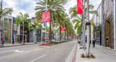 Rodeo Drive,Beverly Hills — Stock Photo