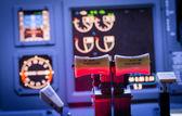 Controles de avião — Fotografia Stock