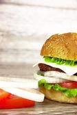 Hamburgers — Stockfoto