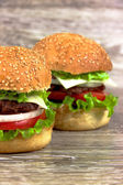 ハンバーガー — ストック写真
