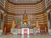 Chinese buddhist temple in asia — Foto Stock