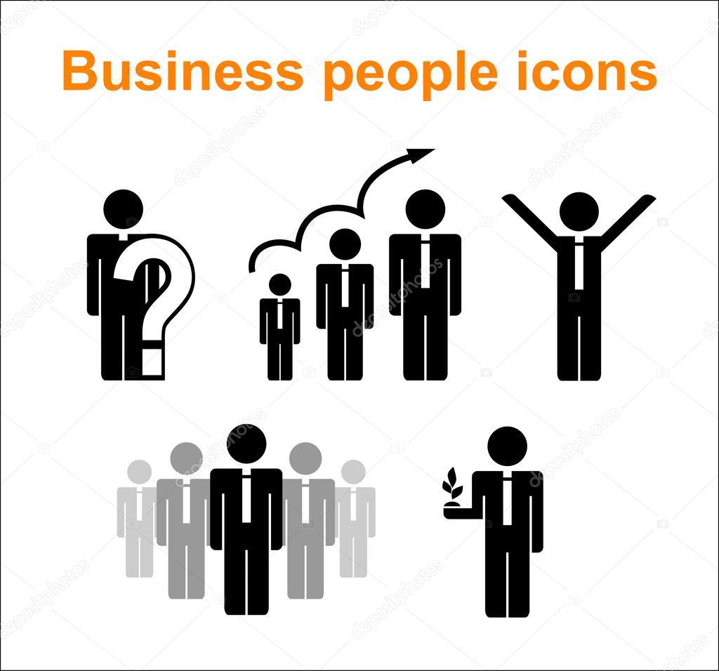 иконки люди: