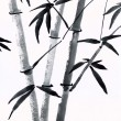 Traditional Chinese painting of bamboo — Stock Photo #40701521