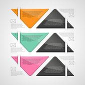 Business design template — Stock Vector