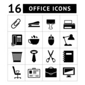 Office icon set — Stock Vector