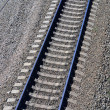Railway from above — Stock Photo