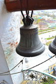 Bells in a belltower — Stock Photo