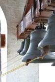 Bells in a belltower — Stock Photo
