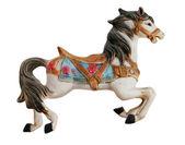 Miniature Carousel Horse — Stock Photo