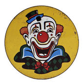 Vintage Clown Noisemaker — Stock Photo