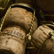 Champagne corks — Stock Photo