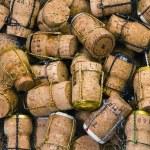 Champagne corks — Stock Photo