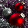 Bauble Border — Stock Photo