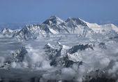 Monte everest — Foto de Stock