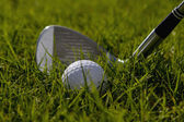 Golf Club and Ball — Foto de Stock