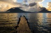 Atitlan Lake — Stock Photo