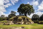 Iximche ruins — Stock Photo