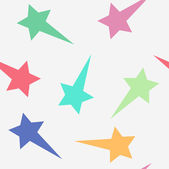 Seamless background. Star. Comet. Flat style — Vector de stock