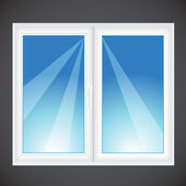 Vector window — Stock Vector