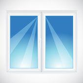 Vector window — Stock Vector