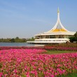 Beautiful flowers and landscape in Suangluang Rama IX Park - Ban — Stock Photo